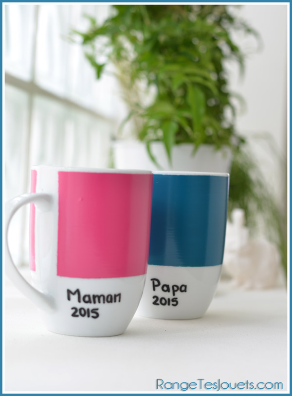 un mug inspiration pantone pour la f te des m res diy range tes jouets. Black Bedroom Furniture Sets. Home Design Ideas