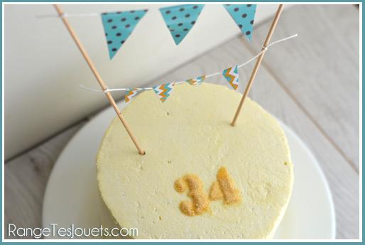 birthday-cake bunting