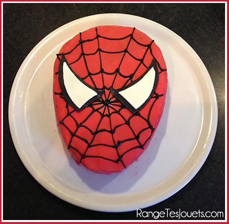 gateau spiderman super heros - Gateau Anniversaire Super Heros