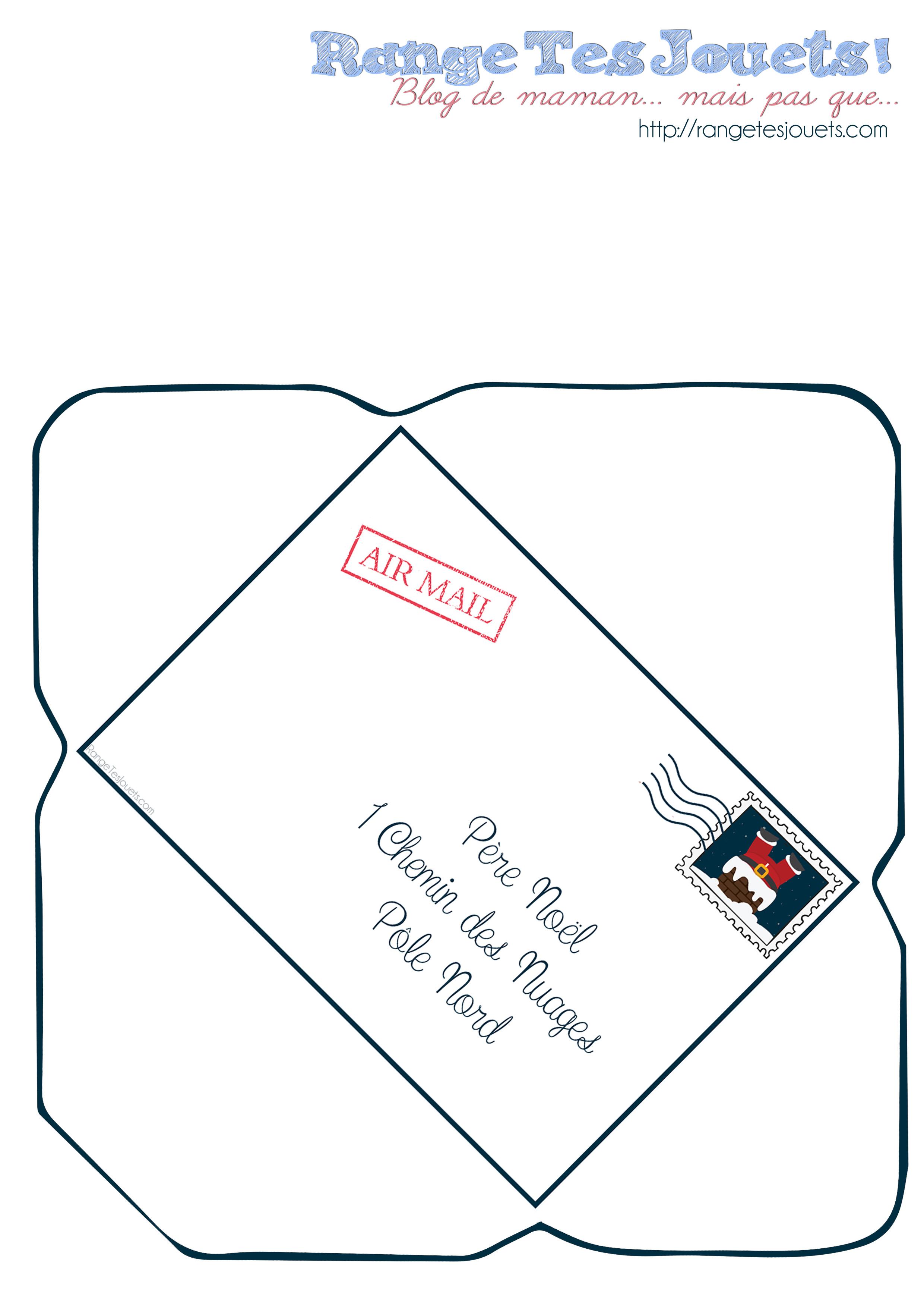 enveloppe-lettre-pere-noel-printable