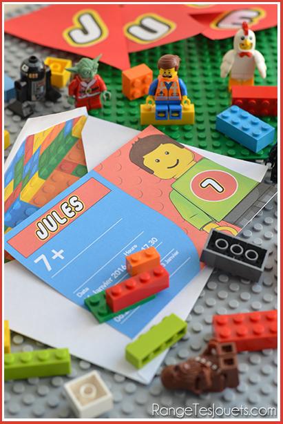 Haut Tout est super génial ! Anniversaire Lego | Range tes jouets ! GK15