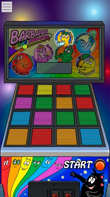 jeu barbapapa couleurs