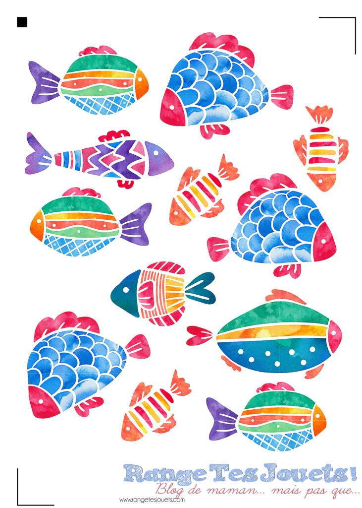 poisson d avril printable et fichier silhouette sst range tes jouets. Black Bedroom Furniture Sets. Home Design Ideas